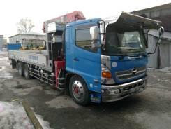Hino Ranger. Продается грузовик с манипулятором, 7 684 куб. см., 10 000 кг.