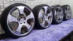 Владельцам Jaguar и Chevrolet культовый хром от WORK LS305 на лете. 10.0/8.5x19 5x120.00, 5x120.65 ET48/45