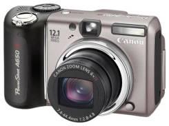 Canon PowerShot A650 IS. 10 - 14.9 Мп, зум: 5х