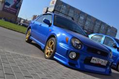 Обвес кузова аэродинамический. Subaru Impreza