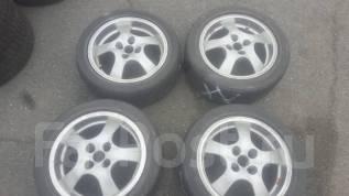 Продам комплект японских колес и литья на16/4x100 7j et+37 OZ racing. 7.0x16 4x100.00 ET37 ЦО 55,0мм.