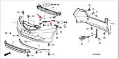 Крепление бампера. Honda Fit, DBA-GE6, DBA-GE7, DBA-GE8, DBA-GE9, GE6, GE7, GE8, GE9 Двигатели: L15A, L13A