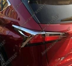 Накладка на стоп-сигнал. Lexus NX200t, ZGZ15L, AGZ10, AGZ15, AGZ15L Lexus NX200, ZGZ10, ZGZ15, AGZ10, AGZ15. Под заказ