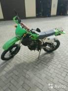 Kawasaki KLX 250. 300 куб. см., исправен, птс, с пробегом
