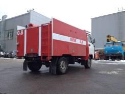 УАЗ 3303 Головастик. УАЗ 3303 Автоцистерна коммунальная пожарная, 2 000 куб. см., 1 225 кг.
