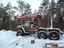 Урал 375А. Продается автомобиль с гидроманипулятором и прицепом-роспуск, 14 000 кг.