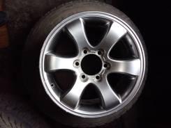 Продам оригинальный рестайлинговый диск Прадо 120 с шиной 265/65 R17. 7.5x17 6x139.70 ET30 ЦО 106,2мм.