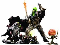 Фигурка Мститель Тыковина, Всадник без головы / World of Warcraft Premium Series 4: The Hallow's End Nemesis The Headless Horseman