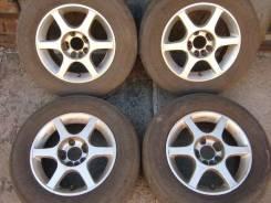 Продам летние колёса 215/65/R15. 6.5x15 4x114.30, 5x114.30 ET35 ЦО 73,0мм.
