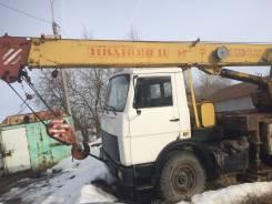 """Ивановец. Продам кран """"ивановец"""" на базе МАЗ, 1 800 куб. см., 17 000 кг., 12 м."""