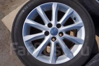 215/55R17 Летние шины с дисками Toyota Crown. Без пробега по РФ. 7.0x17 5x114.30 ET45 ЦО 60,1мм.