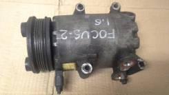 Компрессор кондиционера. Ford Focus, CB4 Двигатели: 1, 6, TIVCT, SHDC, HWDA, HWDB, SHDA, SHDB
