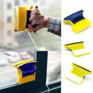 Магнитное приспособление для безопасного мытья окон с двух сторон. Под заказ