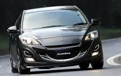 Передний бампер «AutoExe» для Mazda 3 / Axela 2009+ . Отправка по Миру!