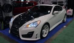 Обвес кузова аэродинамический. Hyundai Genesis. Под заказ