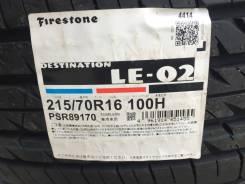 Firestone Destination LE. Летние, 2014 год, без износа, 4 шт