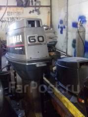 Yamaha. 60,00л.с., 2х тактный, бензин, нога L (508 мм), Год: 2000 год