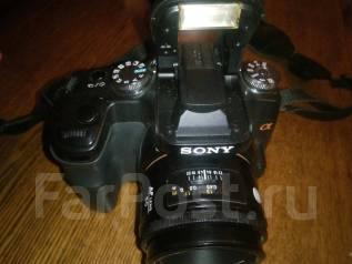 Sony Alpha DSLR-A100. 10 - 14.9 Мп, зум: 4х