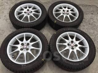 205/55 R16 Michelin X-Ice xi2 литые диски 4х100 (К8-1607). 6.0x16 4x100.00 ET45