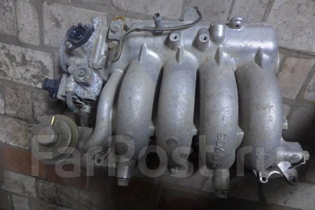 Коллектор впускной. Mitsubishi Galant Двигатель 4G63