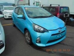 Toyota Aqua. вариатор, передний, 1.5 (74 л.с.), бензин, 94 000 тыс. км, б/п. Под заказ