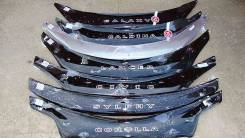 Дефлектор капота. Toyota: Corolla, Hilux Surf, Estima Lucida, Cresta, Carina, Allion, Allex, Harrier, Camry, Corona, Highlander, Caldina, Crown, Funca...