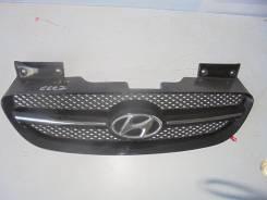 Решетка радиатора. Hyundai Getz, TB Двигатели: G4HD, G4HG, G4EE