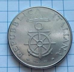 100 лир 1981 года. Италия. Морская академия. В наличии!