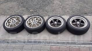 Комплект на Mazda RX-7, перед 205/50R16 Crimson, 225/45R18 хром! Manaray. x18 5x114.30