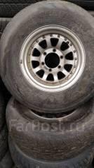 Продам комплект резины на литье. x15 6x139.70 ЦО 110,0мм.
