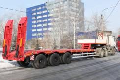 Hartung. 94334.227-0000033 - полуприцеп-тяжеловоз, 45 500 кг.