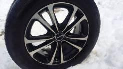 Продам комплект колес r16 ContiSportContact 2. 7.0x16 5x114.30 ET45 ЦО 67,0мм.