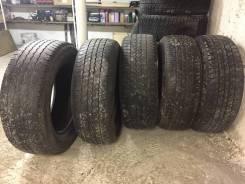 Bridgestone Dueler H/T. Летние, 2008 год, износ: 50%, 5 шт