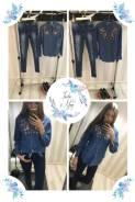 Рубашки джинсовые. 42, 44, 40-44