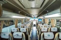 King Long. Новый туристический автобус XMQ6129Y, 8 900 куб. см., 51 место