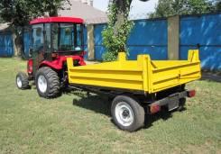TYM Type-1000/S1. Полуприцеп самосвальный тракторный TYPE-1500/S1, 1 500 кг.