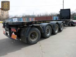 Meusburger Новтрак SP-480. Полуприцеп контейнеровоз, 4 оси, Meusburger SW-480, 2012 год, 71 000 кг.