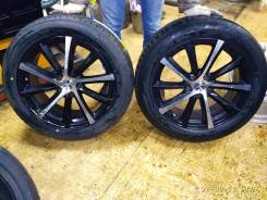 Комплект колес 225/55 R18 в сборе на outlander xl. 8.0x18 5x114.30 ET38