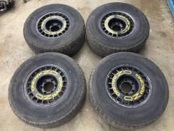 Отличные раллийные диски OZ Racing R15 с резиной на докатку. 8.0x15 6x139.70 ET-5