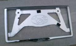 Рамка для крепления номера. Subaru Forester