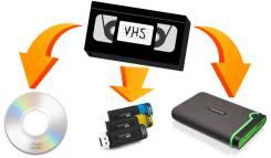 Оцифровка видео кассет (VHS, VHS-C, 8mm sony)