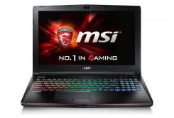 """MSI GE62 VR-6R. 15.6"""", 6 700,0ГГц, ОЗУ 8192 МБ и больше, диск 1 256 Гб, WiFi, Bluetooth, аккумулятор на 12 ч."""