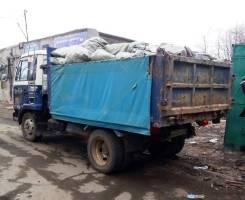 Услуги самосвала 5 тонн , 8 куб. м. + экскаватор. Вывоз мусора.