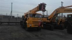 Галичанин КС-55713-5В-4. КС 55713-5В-4 автокран 25т. (Камаз-43118) Овоид, 11 760 куб. см., 25 000 кг., 31 м.