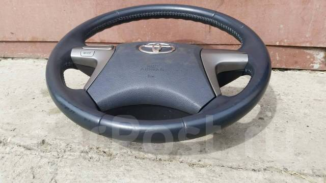 Руль (аирбэг) ZZT 240 Mark Jzx110 Fielder Axio Premio Blade Мультируль. Toyota: Sprinter Marino, Aqua, Reiz, Aristo, Ipsum, WiLL Vi, Mega Cruiser, Car...