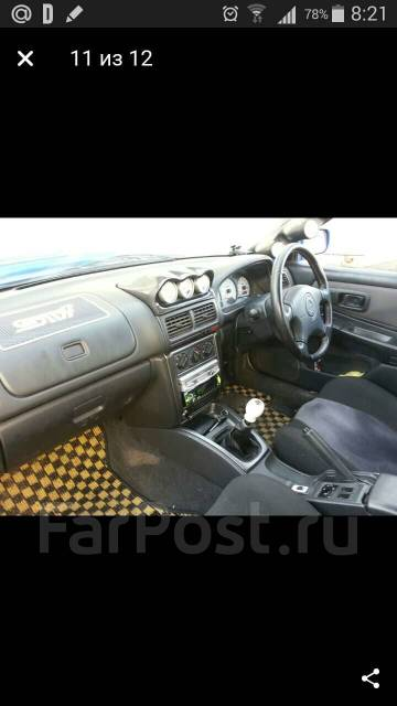 Подиум. Subaru Impreza WRX STI, GC8, GF8 Subaru Impreza, GC8, GF8