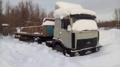 МАЗ 54329. Продам сцепку: седельный тягач МАЗ+ПП МТМ, 14 860 куб. см., 26 800 кг.