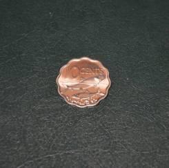 Багамские острова 10 центов