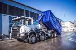 Scania. Мультилифт на шасси P400 8x4, 13 000 куб. см.