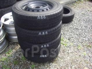 Комплект зимних шин 175/70 R-14 на дисках 4х100. 5.5x14 4x100.00 ЦО 53,0мм.